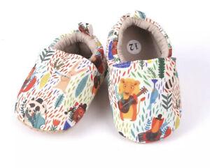 Handmade Cotton Baby Slippers