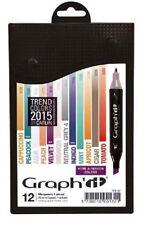 Graph It Marker Pen Set - 12 Colour Box - 2015 Home and Fashion