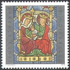 Austria 2012 arte religiosa/VETRO COLORATO/arte/Artisti/Chiesa/PEOPLE 1 V (n42500)