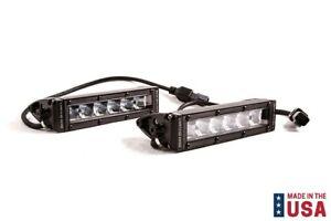 "Pair Diode Dynamics White LED Stage Series 6"" Fog/Wide Light Bars - SAE/DOT"