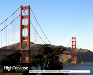 California, Golden Gate Bridge-Color Fine Art Photo-8x10-COA-SIGNED!