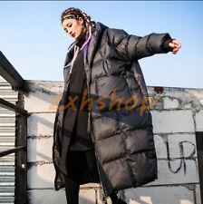 Oversize Damen Daunenjacken Kapuzejacken Winter Warm Parka Langer Outwear Mäntel