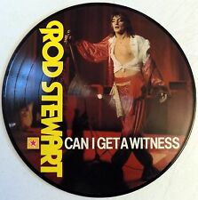 """Rod Stewart - Can I Get A Witness - Germany - 1984 -12"""" Picture Disc LP - New"""