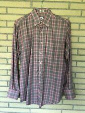 Peter Miller men's medium long sleeve button down shirt