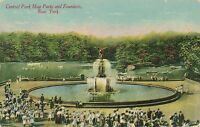 NEW YORK CITY – Central Park May Party and Fountain
