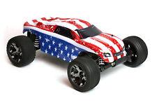 Custom Body American Flag for Traxxas 1/10 Rustler Truck Shell Cover