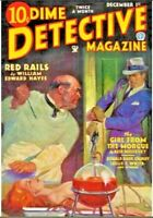 Dime Detective Magazine 65 Select Issue Pulp Collection On USB Flash Drive