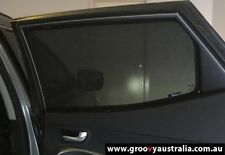 Groovy Car Sun Shades HYUNDAI TUSCON i40 i30 ELANTRA. 2PCS Door Windows Mesh