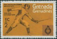 Grenada Grenadines 1975 SG103 ½c Fencing MNH