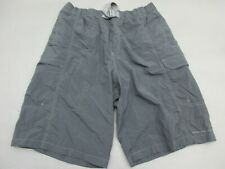 Columbia Size M Mens Black 100% Nylon Outdoor Cargo Shorts 328