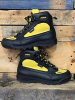 Asolo Skyriser Gore-Tex Waterproof Black Yellow Men's Boots AS-500M Size 10.5