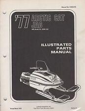 1977 ARCTIC CAT SNOWMOBILE JAG 340 P/N 0185-075 PARTS MANUAL (051)