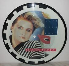 """7"""" 45 GIRI  HELEN TERRY - LOVE LIES LOST / LAUGHTER ON MY MIND - PICTURE DISC"""
