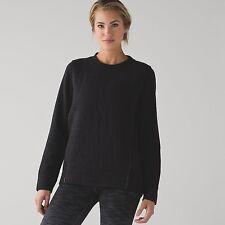 Lululemon Athletica Women's Fleece Be True Crew Sweatshirt Size 4 New !!