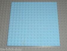 LEGO FRIENDS Bright Light Blue baseplate 91405 / 41058 3061 3188 41007 41108 ...