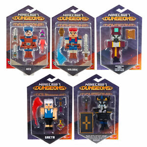 Minecraft Dungeons Core 3.25-Inch Action Figures *CHOOSE YOUR FAVOURITE*