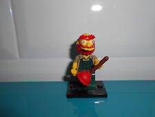 17.5.8.7 LEGO LES SIMPSON Willie jardinier série 2 figurine minifig the simpsons