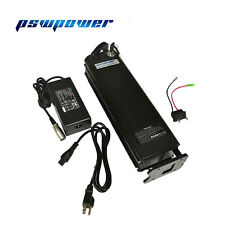 US  36V 13 Ah silver fish ebike electrical battery pack with 42V 2A charger