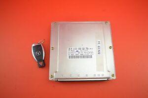 B#19 MERCEDES S430 W220 ENGINE MOTOR ECM ENGINE CONTROL MODULE 1131532279