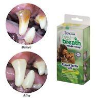 TropiClean Clean Teeth Gel For Dogs Promotes Strong Teeth & Healthy Gums 4 oz