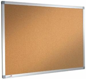 Cork Notice Board Pinboard 1000mm x 800mm DBD2854