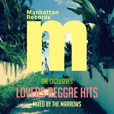 """MARROWS-MANHATTAN RECORDS """"THE EXCLUSIVES"""" LOVERS REGGAE HITS-JAPAN CD E25"""