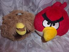 "Angry Birds Chewbacca Red 6"" Plush Soft Toy Stuffed Animal"