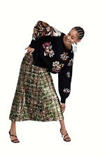 BNWOT ZARA LIMITED EDITION FULLY SEQUIINED LONG SKIRT