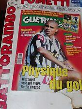 Guerin Sportivo n.36 Trezeguet con poster anno 2001- ottimo