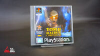 TOMB RAIDER Chronicles Game PS1 BLACK LABEL PlayStation Sony One PAL Fast PP