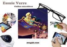 aladdin disney #5 essuie verre chiffon microfibres lunettes téléphone