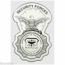 """AIR FORCE SECURITY FORCES POLICE BADGE MILITARY 5"""" DECAL"""
