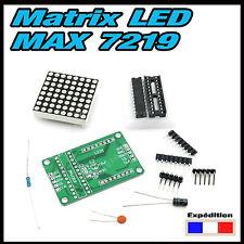 5133#  Matrice LED MAX7219  en KIT , Arduino, Raspberry....