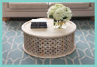 **IN STOCK!** NEW Hamptons Style Mango Wood Round Coffee Table