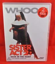 Sister Act 2: Back In The Habit DVD Free Postage Australia Wide R4