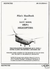"PIASECKI HRP-1 ""FLYING BANANA"" -  PILOT'S HANDBOOK"
