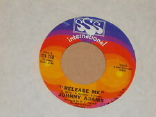 "JOHNNY ADAMS -Release Me- 7"" 45"