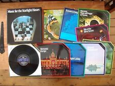 """BOX SET 9 LPs Various """"Music For The Starlight Hours"""" READER'S DIGEST GMSH-9A"""