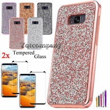 Samsung Galaxy S8 / S8 Plus Hybrid Bling Glitter Shockproof Hard Protective Case