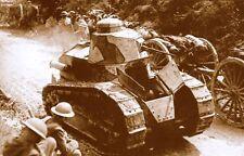 WW1 -  Photo - Char Renault FT17 de l'Armée américaine en France