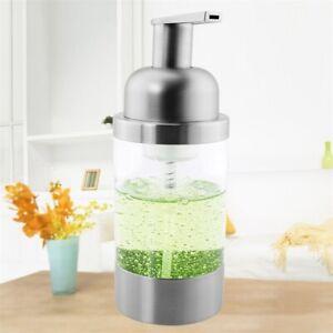 Stainless Steel Foaming Soap Liquid Dispenser (Brush) PS Pump Head Countertop