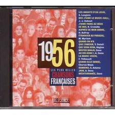CD Les plus belles chansons francaises 1956 duteil dona Croisille ADAMO AUFRAY