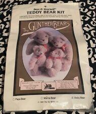 "GUNTHER BEAR Teddy Bear KIT ~ Baby Bear ~ The Toy Works ~ 7"""