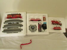 HAWTHORNE VILLAGE BUDWEISER KING OF BEERS TRAIN SET