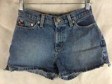 "Ralph Lauren POLO JEANS COMPANY Denim Jean Shorts Size 0 Weekender 2.5"""