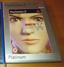 Resident Evil Code Veronica X Ps2 Sony PLaystation2 PAL COMPLETO OTTIME CONDIZ