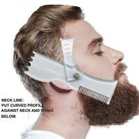 Beard Styling Shaping Template Comb Symmetry Trimming Shaper Stencil grooming
