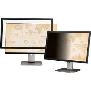 """Genuine 3M Black Privacy Filter for 24"""" Widescreen Monitor 16:10 PF240W1F W0#"""