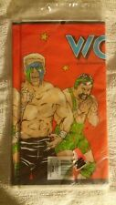 vintage 1991 wcw table cloth new