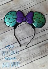 Little Mermaid Ariel inspired Minnie Mouse ears